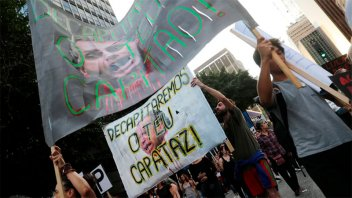 Huelga general y  protestas paralizaron Brasil