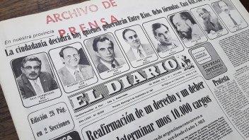 Publicaron una línea de tiempo sobre los procesos electorales de Entre Ríos