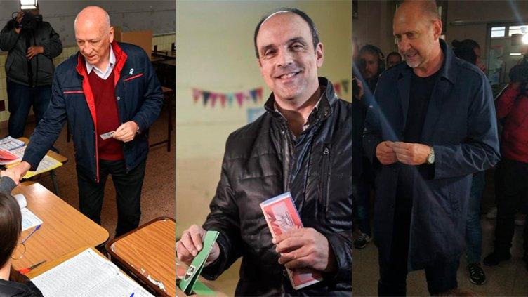 Santa Fe elige gobernador este domingo: Ya votaron Bonfatti, Corral y Perotti