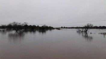 Anegamientos en Tala: Unas 170 personas siguen en los centros de evacuados