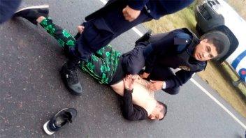 Amenazas, persecución y disparos: Detuvieron a