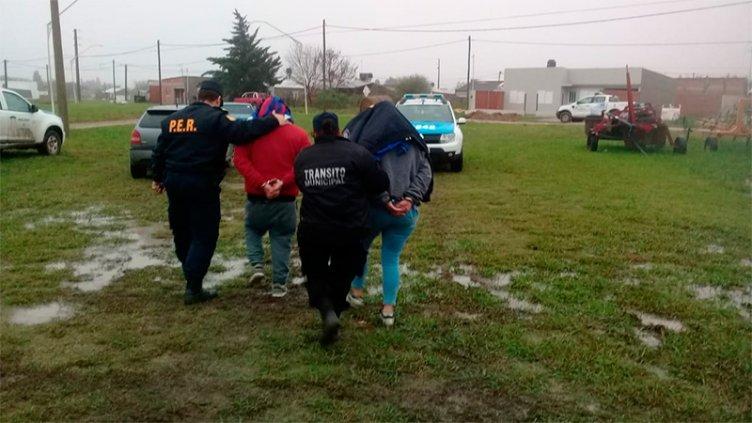 Venta de drogas: Un colombiano y su pareja fueron detenidos en Crespo