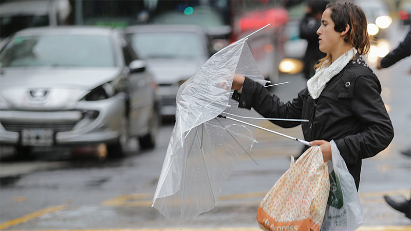 Alertas: Además de lluvias, también pronostican fuertes vientos