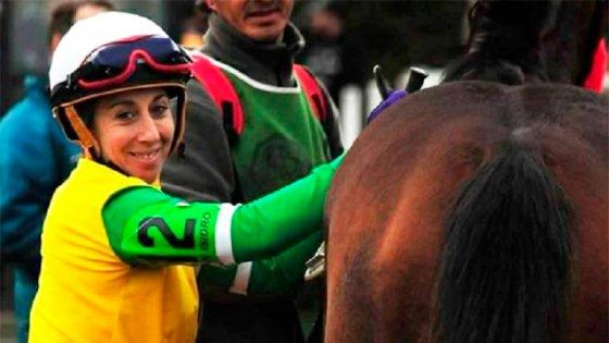 Murió la jocketa María Paganelli: había sufrido graves lesiones tras una rodada