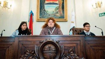 Los concejales estudiantiles de Paraná tomaron juramento