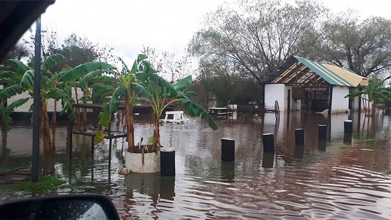 Operadores turísticos preocupados por el avance del agua