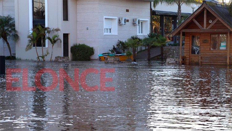 Las imágenes de la inundación en Gualeguaychú: Ya son 134 los evacuados