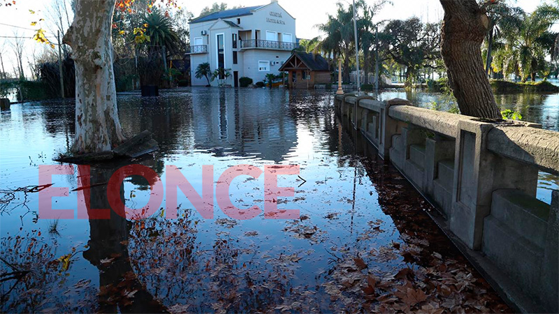 Las imágenes de la inundación en Gualeguaychú: Ya son 133 los evacuados