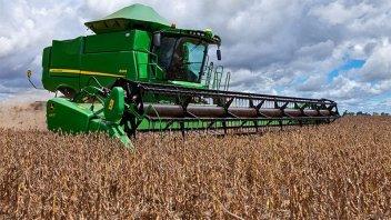 Finaliza la cosecha de soja, con buena calidad en Entre Ríos
