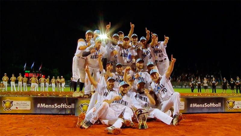 Histórico: la selección argentina se consagró campeona en el Mundial de softbol