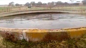 Otro video muestra nuevo movimiento del agua en el tanque que asombra a todos