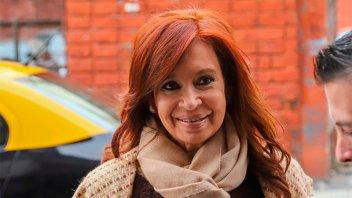 Autorizaron a Cristina a no estar presente en el juicio hasta su indagatoria