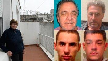 Relato de la vecina uruguaya que se encontró con los cuatro fugados en su casa