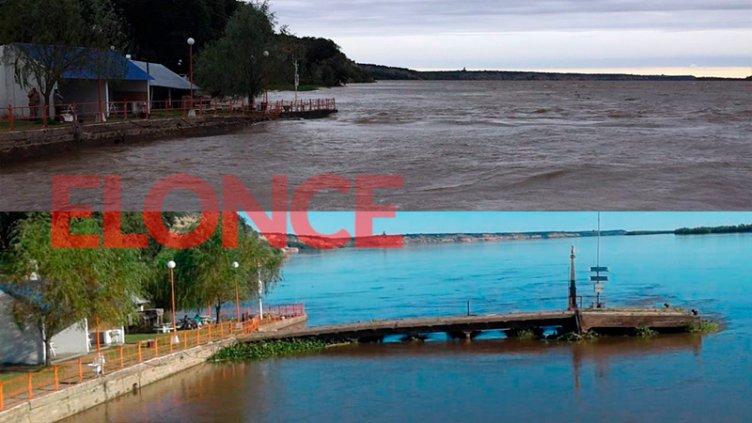 Imágenes: Así quedó la zona costera de Hernandarias sin el muelle del pescador