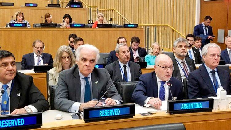 El Gobierno ratificó ante la ONU, su reclamo