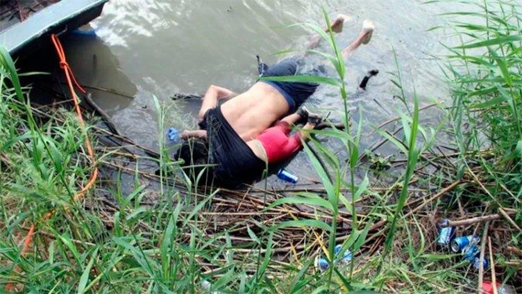 La imagen más triste de la migración hacia EEUU: Padre e hija murieron abrazados