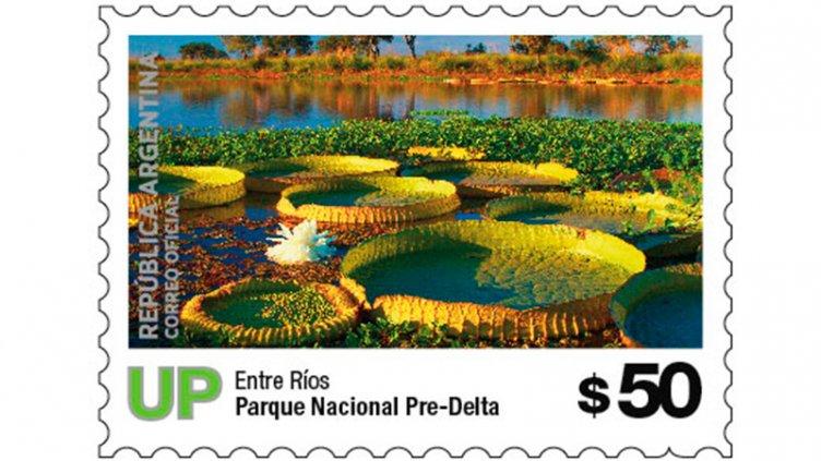 Los Parques Nacionales de Entre Ríos tienen nuevos sellos postales