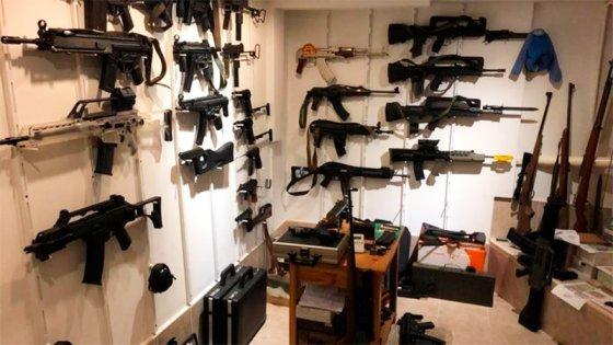 Desbaratan una megabanda dedicada al tráfico de armas: Hay 17 detenidos