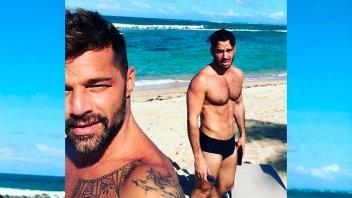 El bailecito del esposo de Ricky Martin para su hija que enloquece en las redes