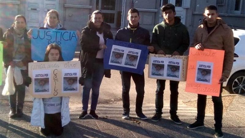 Familiares del bebé fallecido pidieron justicia