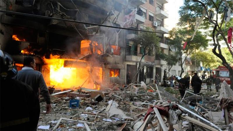 La explosión ocurrida en el año 2013