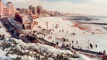 ¿Se repetirá el fenómeno de 1991?: Pronostican nevadas para Mar del Plata