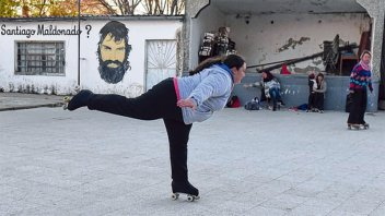 La historia de Brenda: Es ciega, hace patín artístico y competirá en Brasil