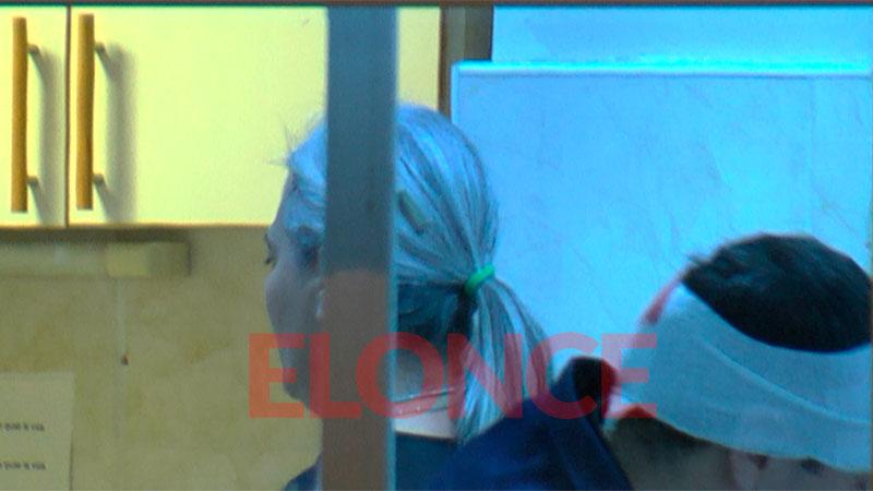 Elonce TV pudo conocer el momento en que el policía estaba siendo asistido