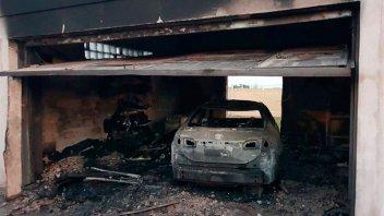 Sofocaron incendio en la casa del precandidato a diputado nacional Gustavo Hein