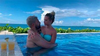 Las vacaciones súper apasionadas del Kun Agüero con su nueva novia