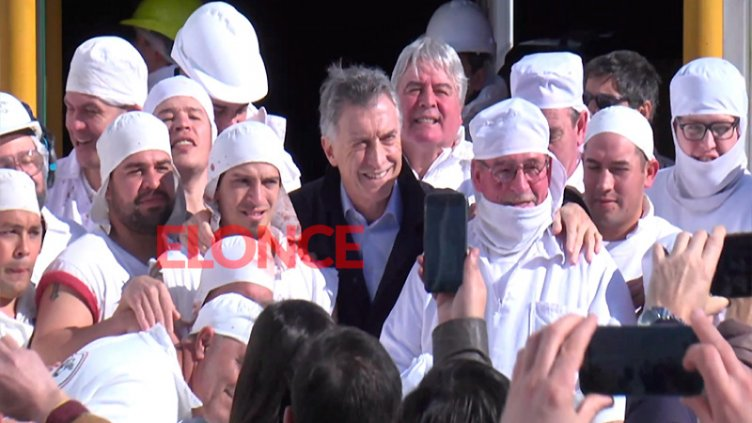 Visita de Macri: La opinión de los trabajadores del frigorífico de Oro Verde