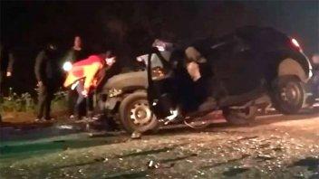 Un caballo causó accidente fatal: Dos muertos y una decena de heridos
