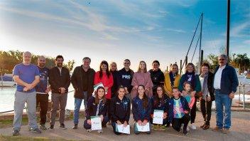 La provincia continúa acompañando a jóvenes deportistas mundialistas