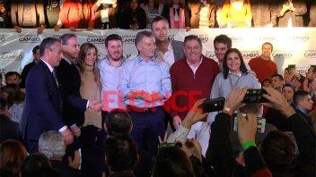 Acto de Juntos por el Cambio: Videos de Macri, Pichetto, De Angeli, Lena y Hein