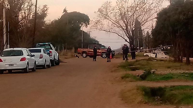 Madre e hija fueron asesinadas a puñaladas en Villaguay.-