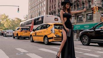 Las fotos más sensuales de la diseñadora Paz Cornú en Nueva York