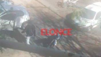 Hallaron, identificaron y quedó libre el motociclista que golpeó a automovilista