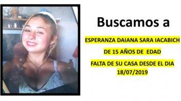 Buscan a una adolescente que desapareció en Nogoyá y podría estar en Paraná