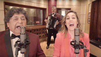 Video: Los Palmeras y Soledad Pastorutti hacen una versión de