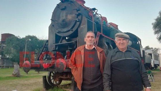 Memorias: La vieja locomotora Strobel que alberga los recuerdos de ferroviarios