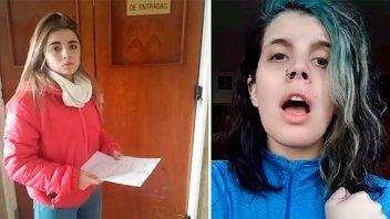 Denunciaron a la chica que grabó una versión feminista del Himno Argentino