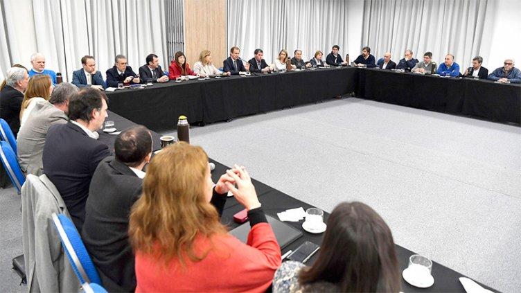 Bordet comenzó a trabajar las pautas presupuestarias para el 2020