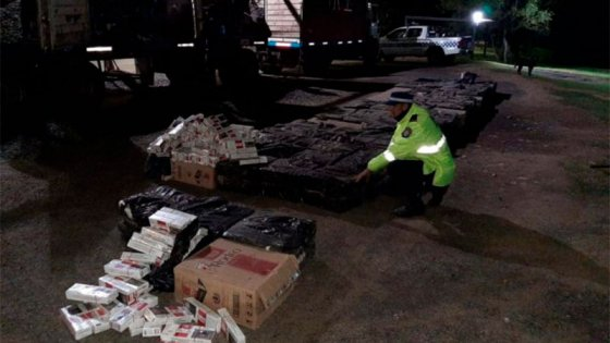 Impidieron millonario contrabando de cigarrillos