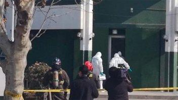 Explotó una bomba en comisaría de Santiago de Chile: 5 carabineros heridos