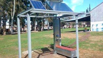 En Chajarí instalarán una estación solar de uso libre