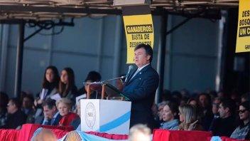 Greenpeace se infiltró en la inauguración de La Rural de Palermo