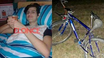 Joven ciclista chocado y abandonado se recupera: