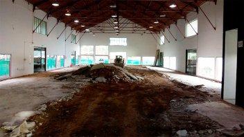 La remodelación de la Sala Mayo presenta un 50% de avance