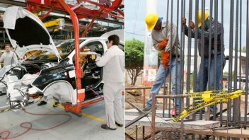 La industria cayó casi 7% y la construcción profundizó su retroceso