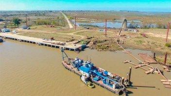 La UIER pone el foco en la reactivación del Puerto Ibicuy